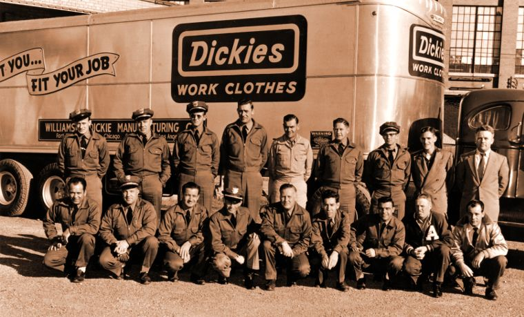 Dickies was founded in 1922 in Fort Worth, Texas.