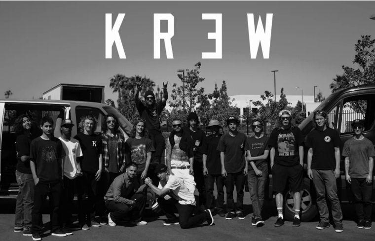 Das Team von KR3W.