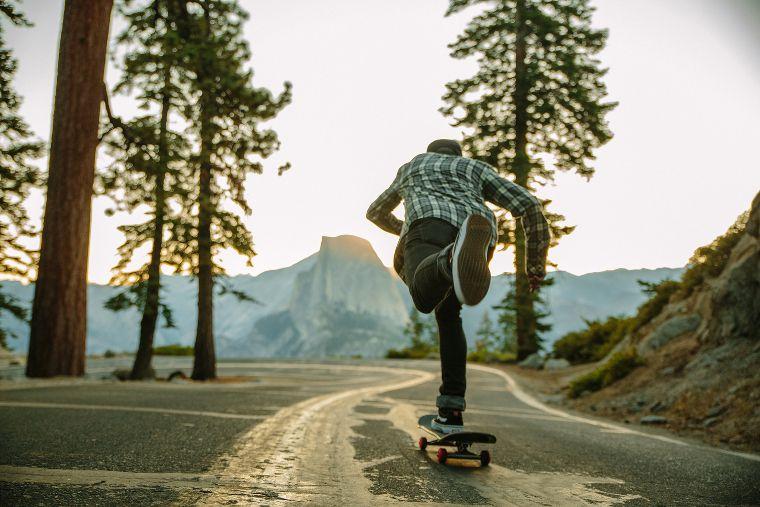 Pushing through Yosemite with Key Street.