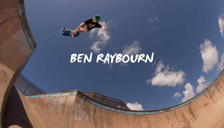 NEFF Teamfahrer Ben Raybourn.