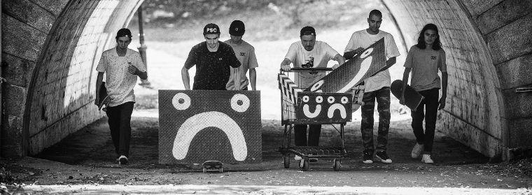 Die Crew von Polar Skate Co.
