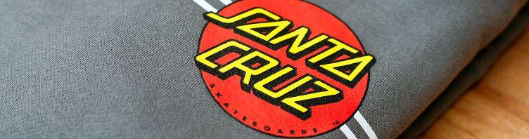 Santa-Cruz stellt nicht nur Skateboards her, sondern auch Streetwear.