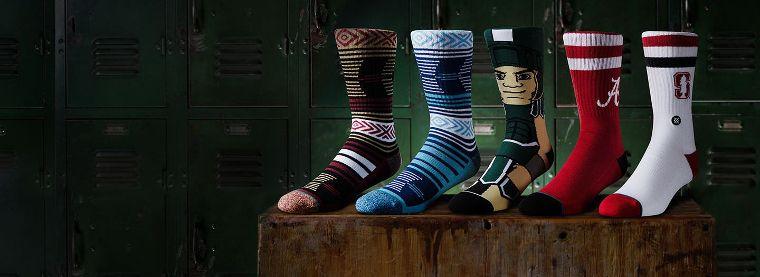 Stance Socken für die NCAA.