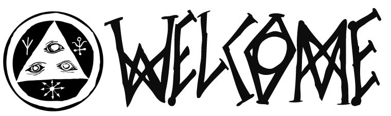 The Welcome Skateboards logo.