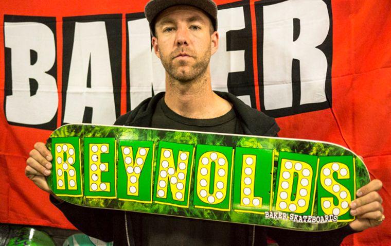 Skateboard legend Andrew Reynolds founded Baker Skateboards in 1999.