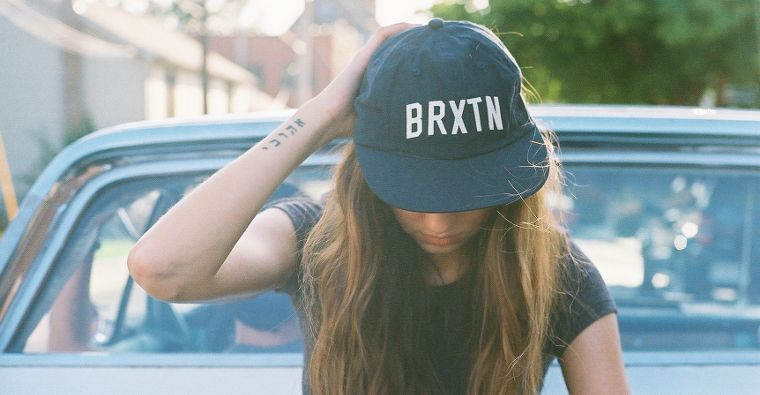 Brixton ist bekannt für seine Hüte und Mützen.