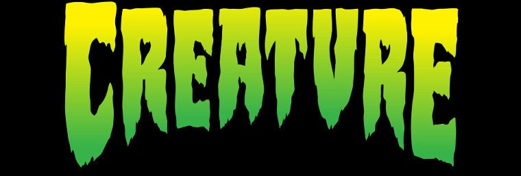 Logo de Creature Skateboards.