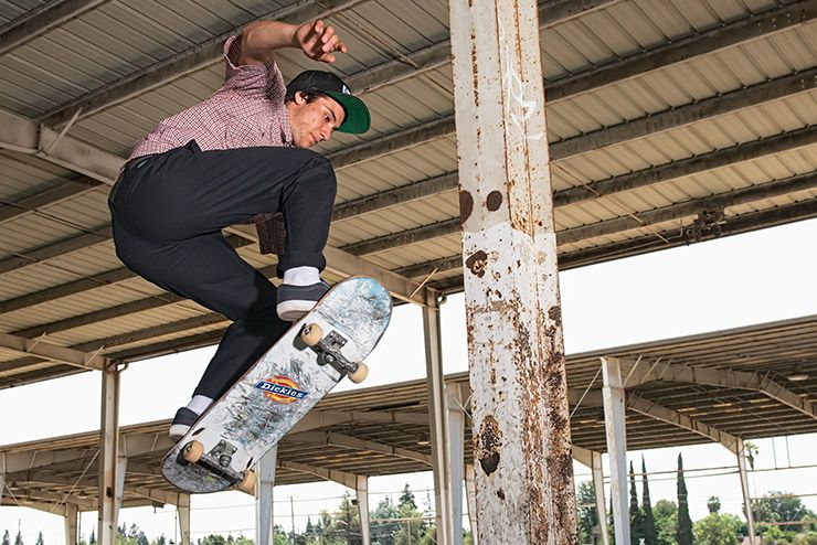 Dickies team rider Ronnie Sandoval.