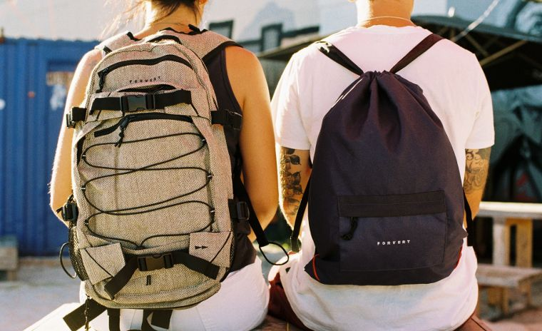 Forvert backpacks are practical und stylish.