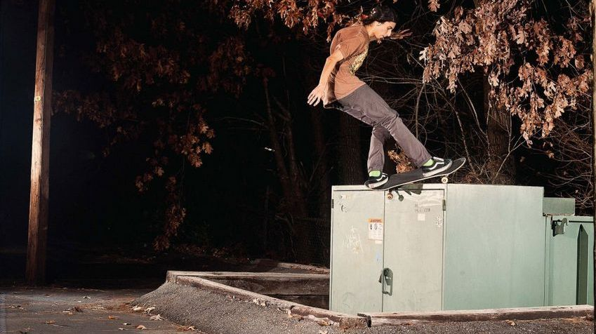 Foundation Skateboards Teamfahrer Corey Glick.