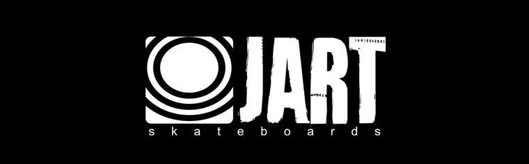 Das Logo von JART Skateboards.