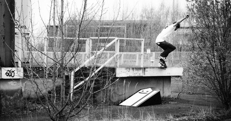 Lousy Livin team rider Dennis Laaß with a crooks.