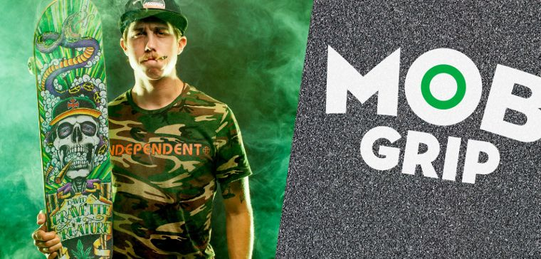 Lo skater del team MOB Grip David Gravette.