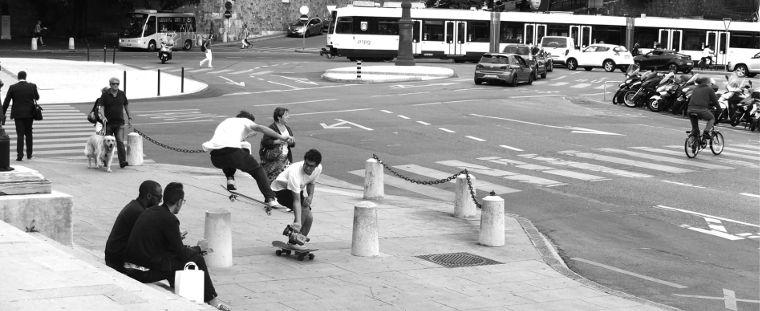 Magenta Skateboards Filming