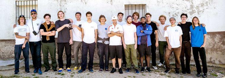 Das New Balance Numeric Skate-Team.