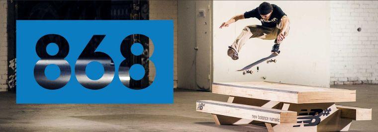 New Balance Numeric Skateboarding.