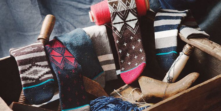 Modelli di calze della Stance.