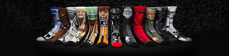 The Star Wars x Stance collab socks.