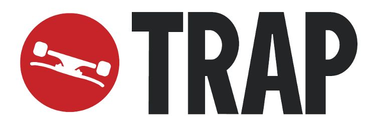 The Trap Skateboards logo.